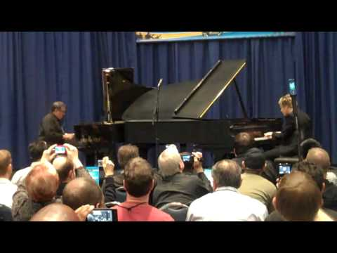 Cecil Ramirez and Brian Culbertson Jamming at NAMM