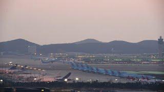 Seoul Incheon Airport 747 Cargo Fedex Atlas UPS Korean Air 747 787 Asiana 인천국제공항