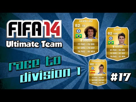 fifa 14 ultimate team race to division 1 17 so many rage quitters