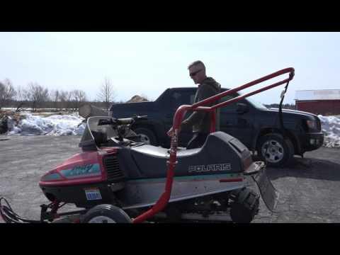 Will seafoam fix my boggy snowmobile?  Bog series #7  Polaris indy lite.