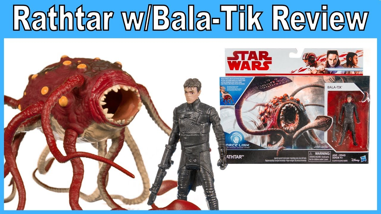 Star Wars Force Link Rathtar /& Bala-TIK Figure