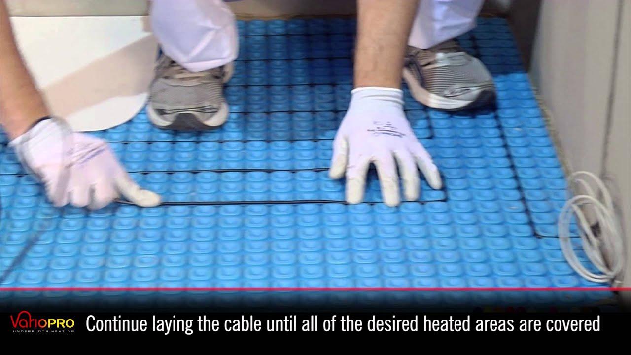 Vario pro installation underfloor heating and uncoupling youtube vario pro installation underfloor heating and uncoupling dailygadgetfo Gallery