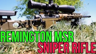 Remington MSR: The Special Forces MK 21 Sniper Rifle