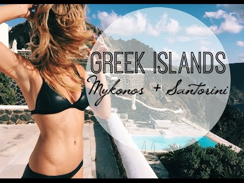 Greek Islands | Mykonos + Santorini