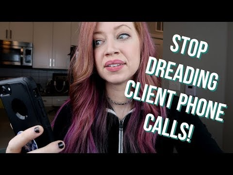 How to CONQUER Freelance Writing Client Phone Call Anxiety (5 STEPS!)