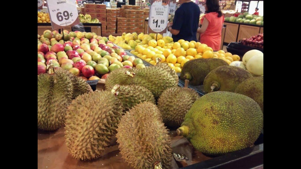 I found Jackfruit and Durian - YouTube