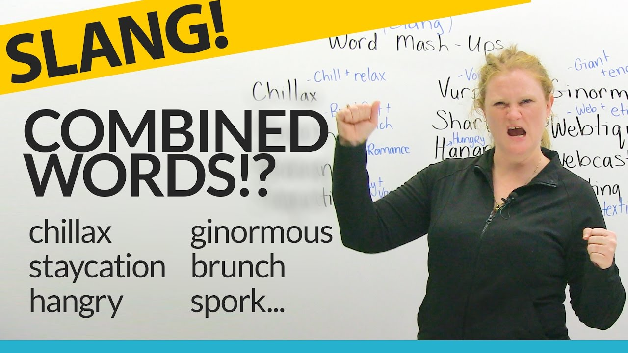 Slang 13 Funny Word MashUps in English YouTube