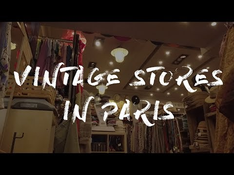 5 VINTAGE STORES CLOSE-BY IN PARIS | Dji Mavic Pro