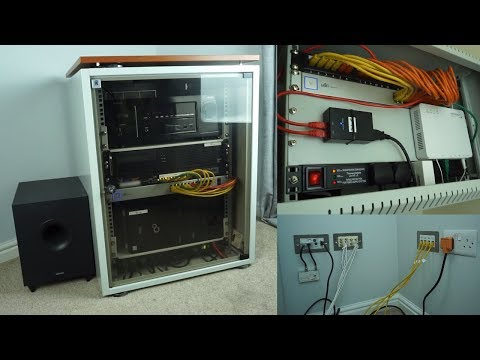 Tour Of My Completed Home Network And AV Installation