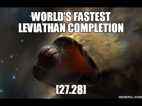 Destiny 2 - World's Fastest Leviathan Completion from spawn [27.24]