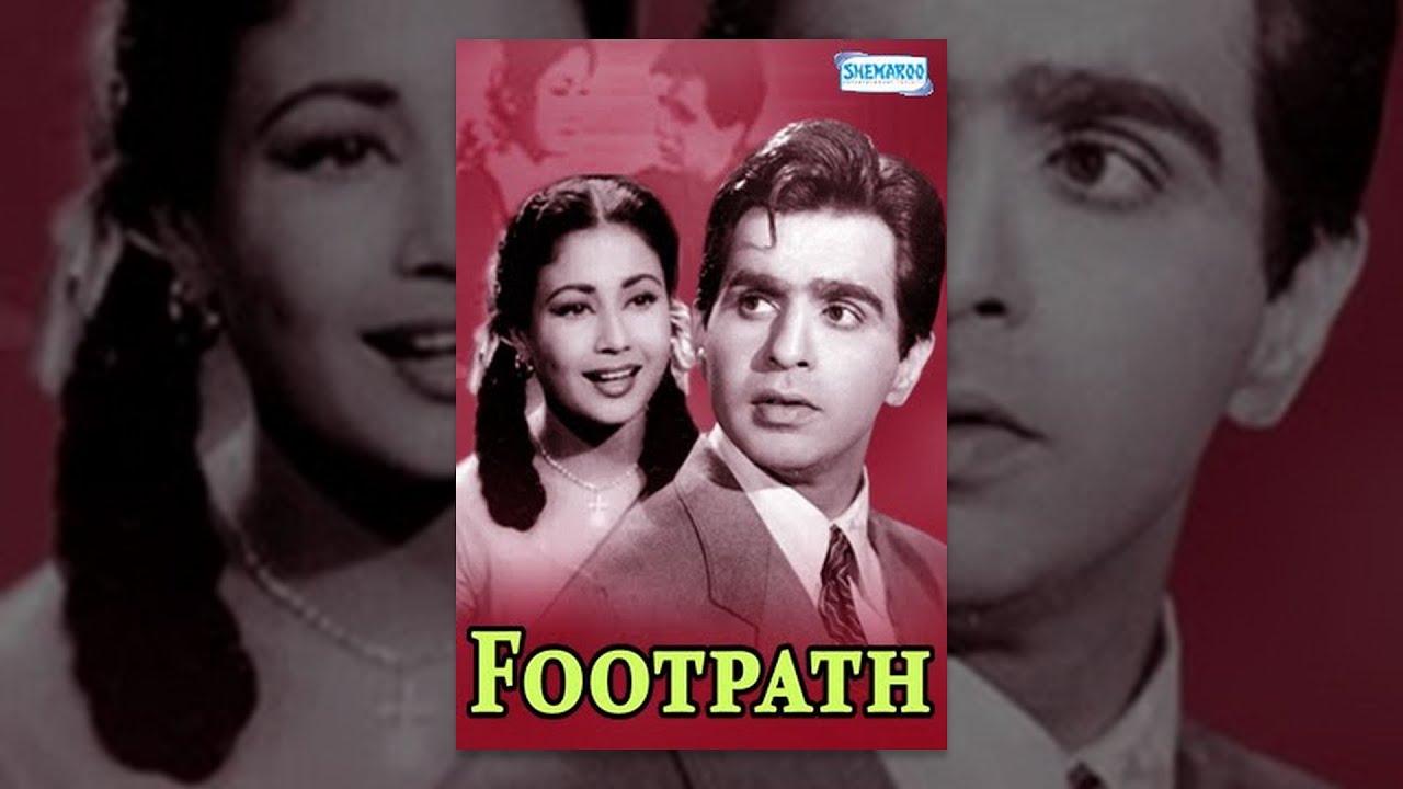 Download Footpath 1953 - Dilip Kumar - Meena Kumari