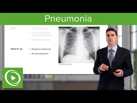 Pneumonia: Types, Classification, Symptoms & Management – Respiratory Medicine | Lecturio