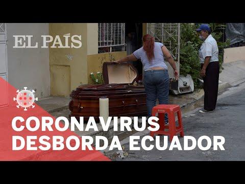 #CORONAVIRUS | Crisis Por Cadáveres En Ecuador