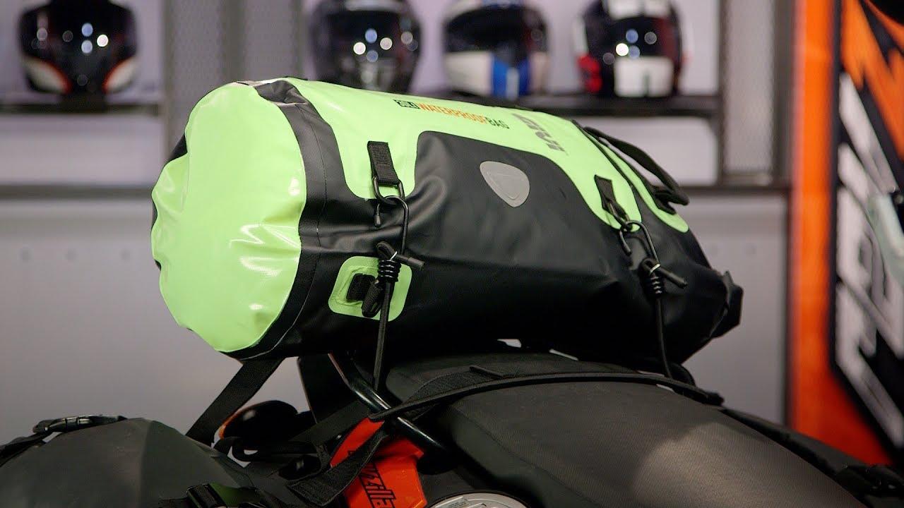 085b4bce350 Givi WP407 30L Waterproof Roll Bag Review at RevZilla.com - YouTube