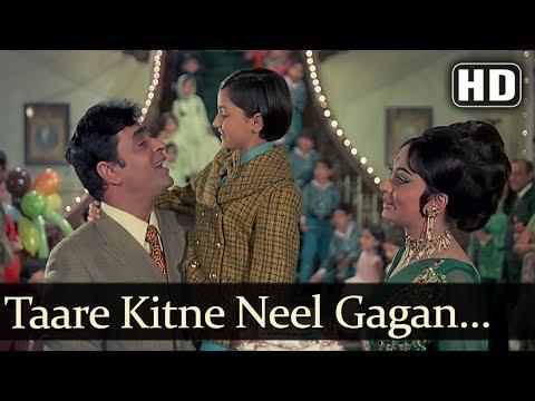 Taare Kitne Neel Gagan Pe HD  Aap Aye Bahaar Ayee Songs  Rajendra Kumar  Sadhana  Old Song