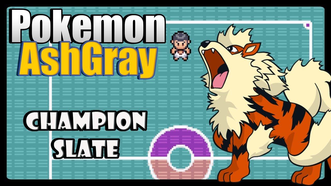 Pok\u00e9mon Ash Gray  Champion Slate Finale  YouTube
