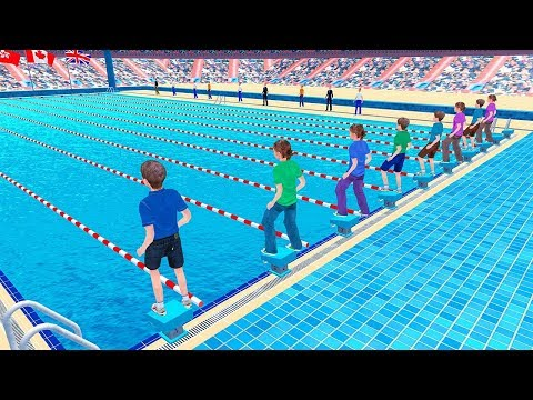 Virtual High School Swimming Championship - YouTube
