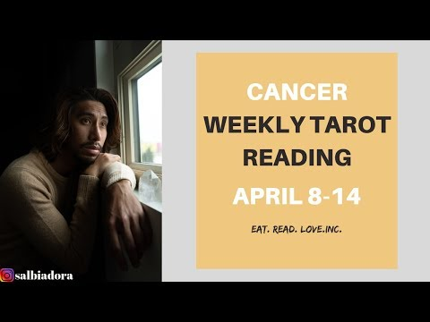 CANCER What happens if you cut them off? April 8-14 Weekly Tarot Reading