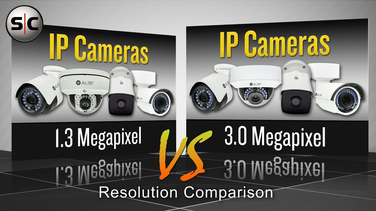 Security Camera Resolution Comparison