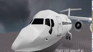 [Roblox] Air Crash Investigation Flight 150 Short Movie