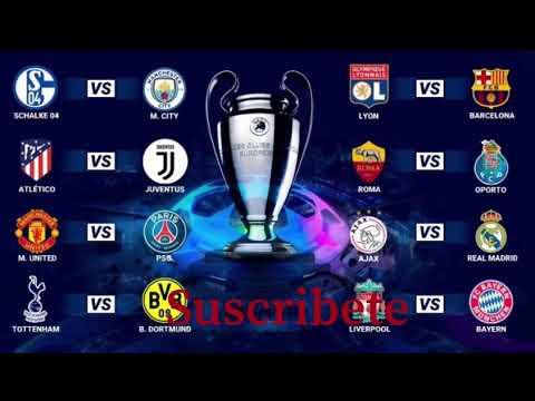 Calendario Real Madrid 2019.Calendario De La Champions League Octavos De Final De La Champions 2019 Partidos En Febrero 2019