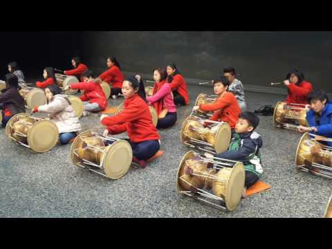 Janggu Class.국립국악원 (Traditional Korean Drum)