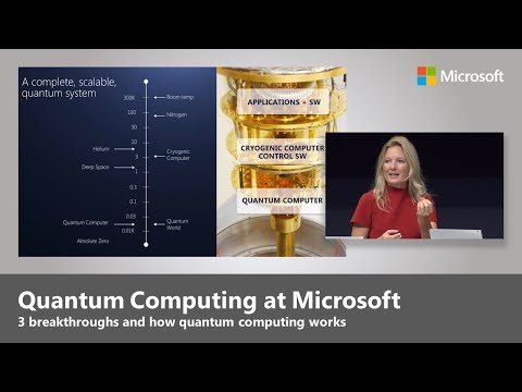 Quantum Computing - Top 3 Microsoft Breakthroughs with Krysta Svore