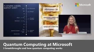 Quantum Computing - Top 3 Microsoft Breakthroughs with Krysta Svore thumbnail