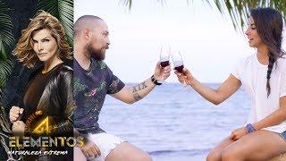 Daniela Fainus, ¿enamorada de Pedro Prieto?  | Vino con Wero | Reto 4 Elementos