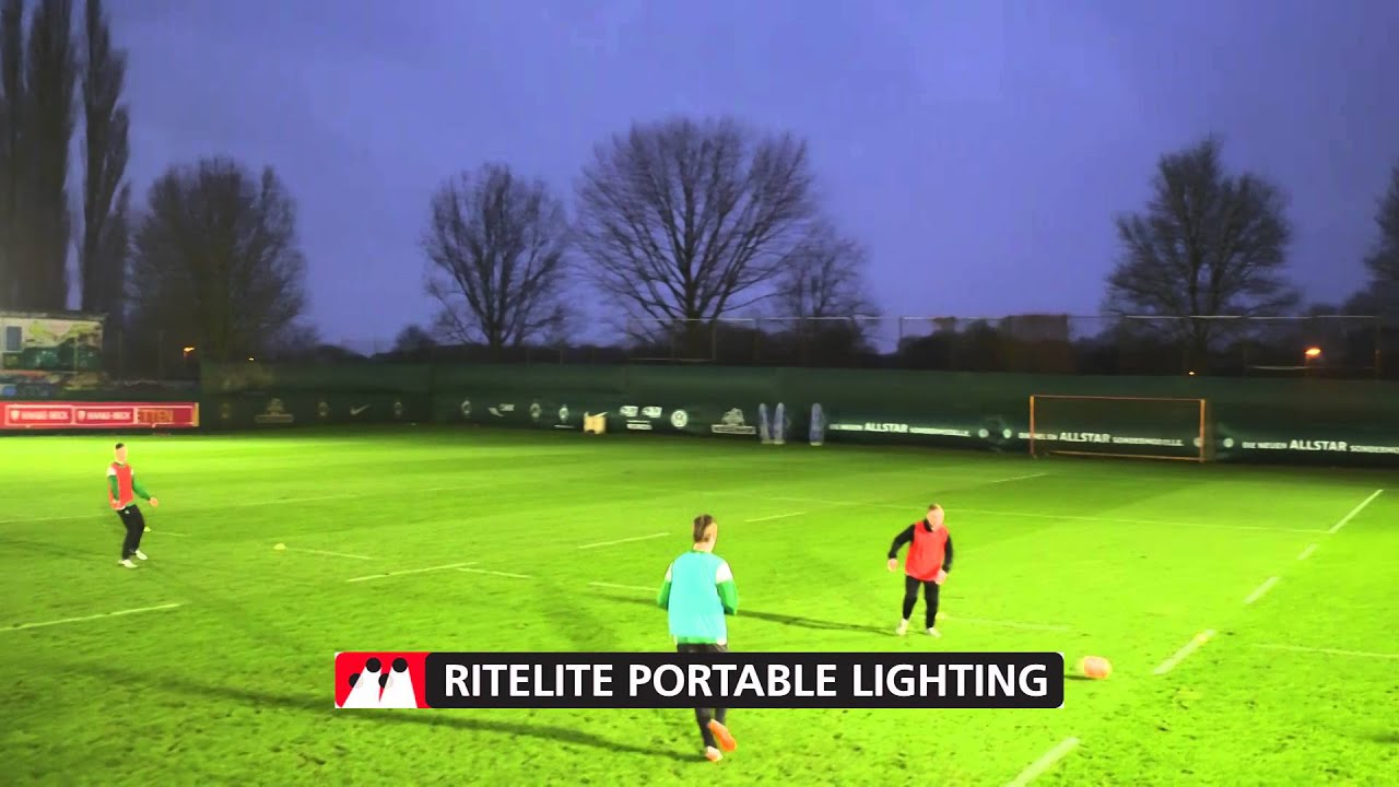 Portable Floodlights For Sports Quad