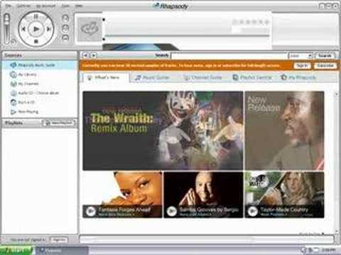 How to Delete Rhapsody Channels From Your Sansa MP3 Player