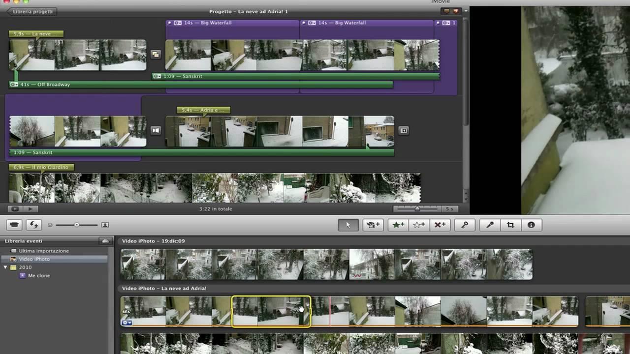 effetti video imovie