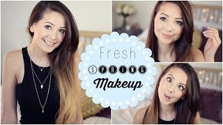 Fresh, Spring Makeup Tutorial | Zoella