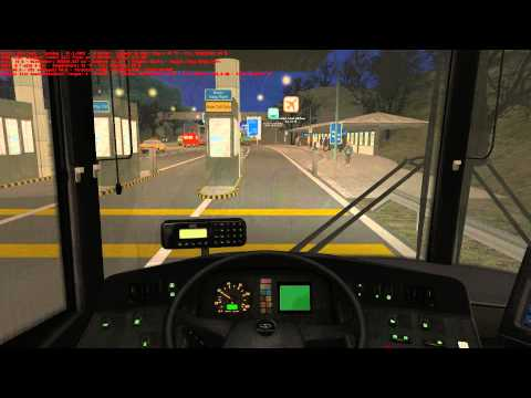 OMSI 2 Joyride #132 - Great Grundorf 2 - Route A4 Airport - Hong Shing Port - OMSI The Bus Simulator