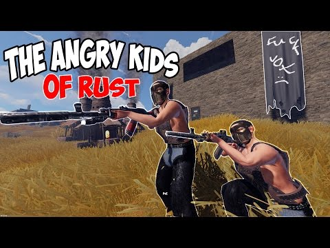 TRIGGERING KIDS and STEALING their BASE | Rust