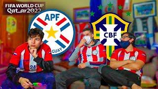 PARAGUAY (0) vs BRASIL (2)   Reaccionando al partido