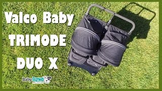 Valco Baby Trimode Duo X Double Stroller Review