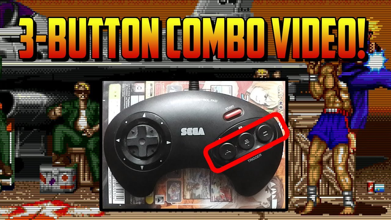 The 3 Button Combo Video Ken Infinite 100 Combos Jump Cancels