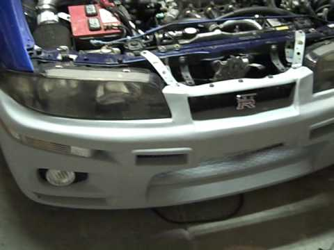 Skyline Converted - 93 Honda Prelude Type S - Turbo Charger Install - Step 1