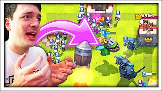 WAS THIS MEAN!? HAHA! • Clash Royale FUNNY MOMENYS