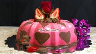 Gelatina Corazones de Chocolate para el Dia de San ❤️💖💝💞💘🍫Valentin 💏| Chio Hermosita❤️