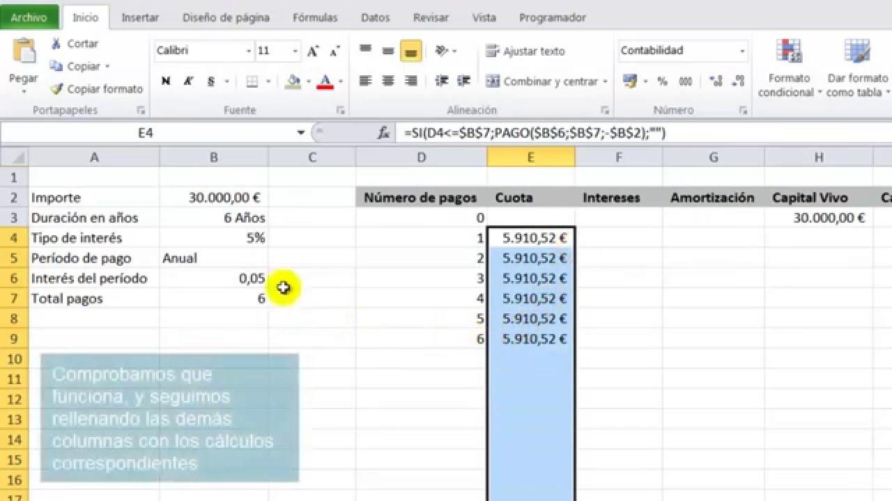 Cómo crear un simulador de préstamos en Excel mejor que el del ...
