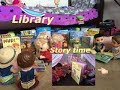 BABY ALIVE: Library! The babies go to the Library! 📚