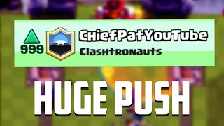 Clash Royale - TOP 200 PUSH! Maxed Out Gameplay