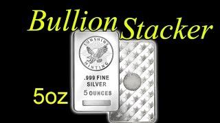 REVIEW: 5oz Sunshine Minting Silver Bar APMEX