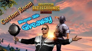[Hindi] PUBG Mobile New Update | SubGames & Custom Matches | 2nd Giveaway | INDIA Live Stream