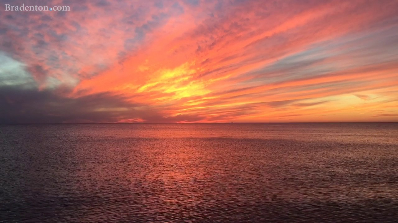 30 Seconds Of Anna Maria Island Sunset Beach Therapy