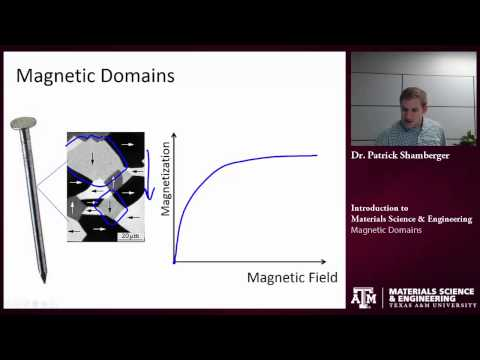 Magnetic Domains {Texas A&M: Intro to Materials}