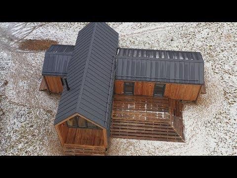 Построили дом за 23 дня. Из чего? || Фазенда Лайф