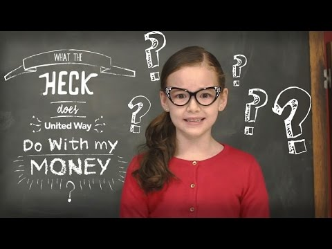 What the heck does United Way do with my money?